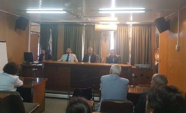 El momento de la sentencia en Tribunales de Mar del Plata (0223.com.ar).
