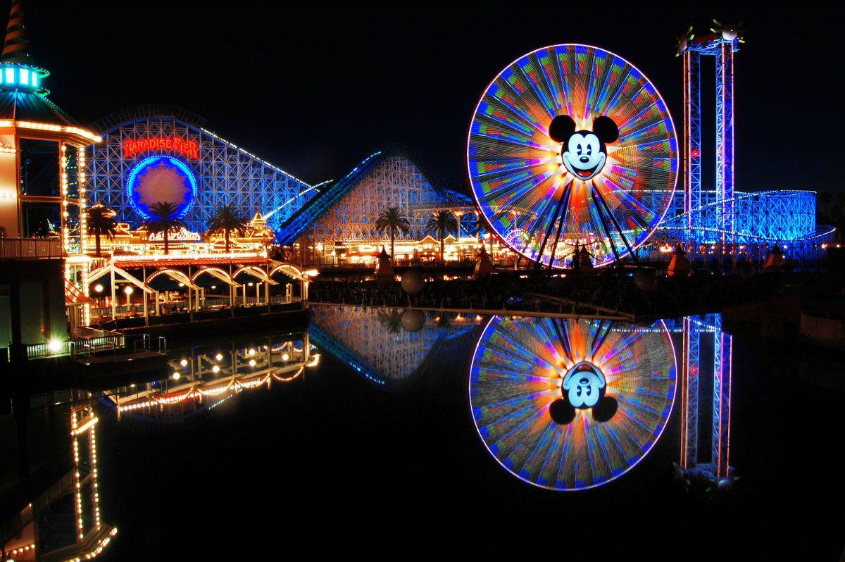 El parque de Anaheim