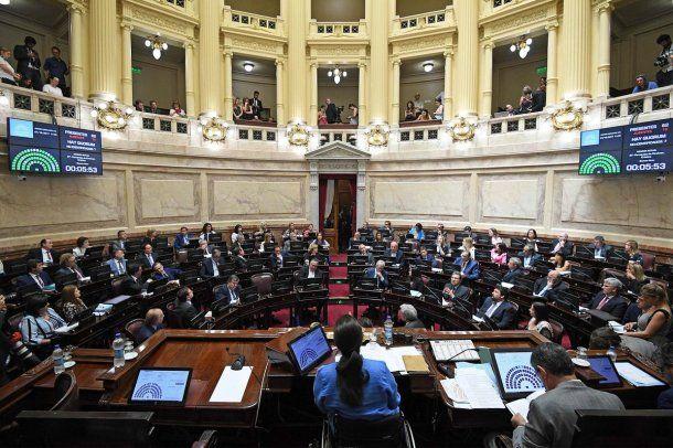 Senado en plena sesión por Presupuesto