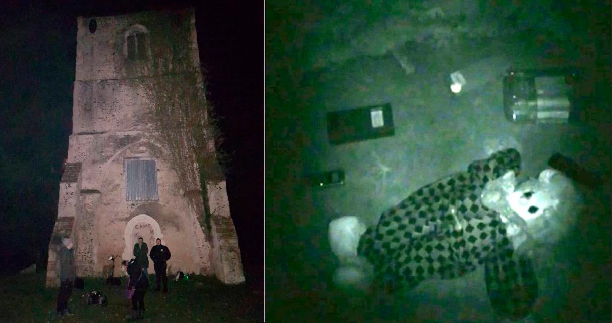 Cazadores de fantasmas logran grabar misteriosas voces en una iglesia abandonada