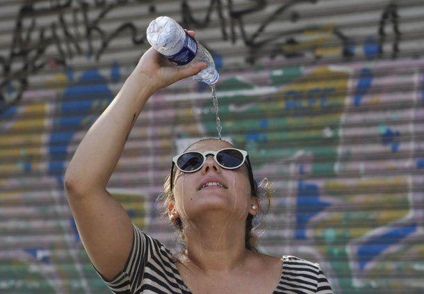 Ola de calor en Buenos Aires<br>