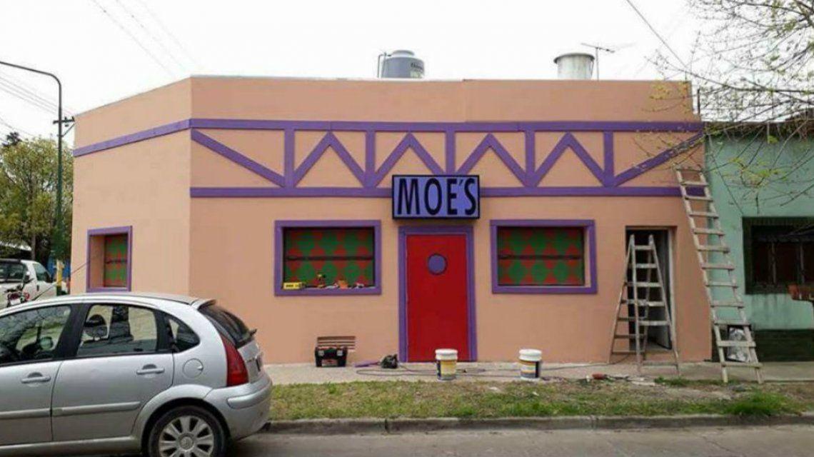 El bar de Moe entró en el radar de Fox y se complicó