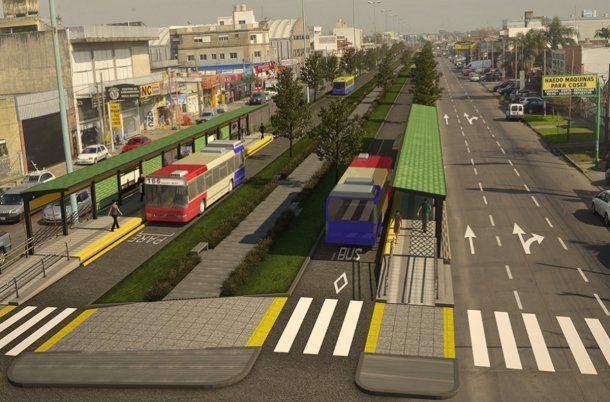Avanza el plan del metrobús de Morón