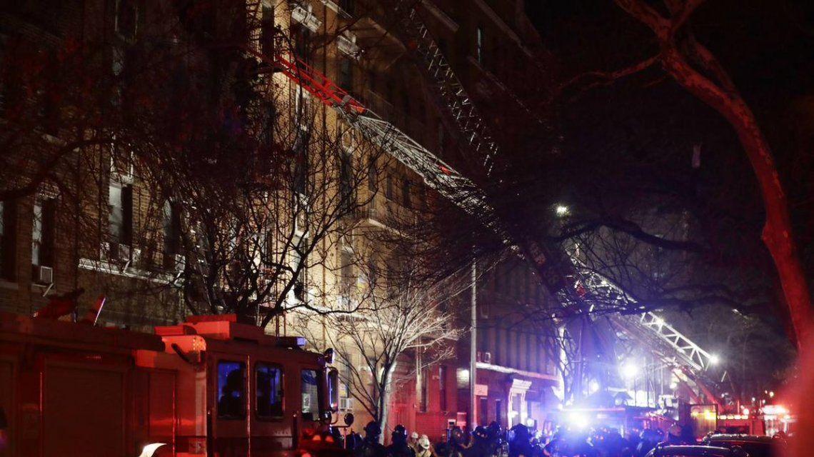 Incendio en Nueva York