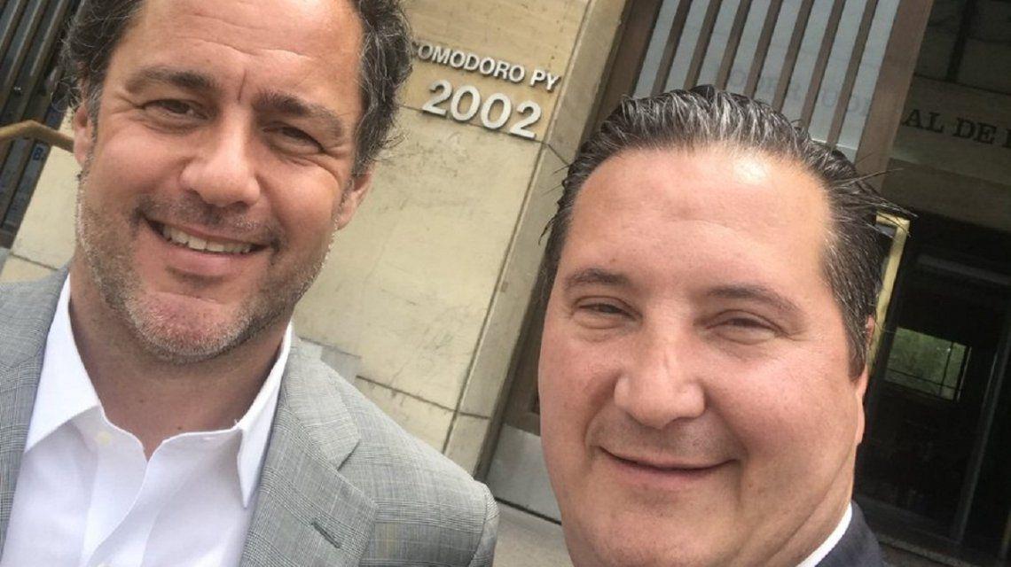 Juan Manuel Ducler y Alejandro Sánchez Kalbermantten