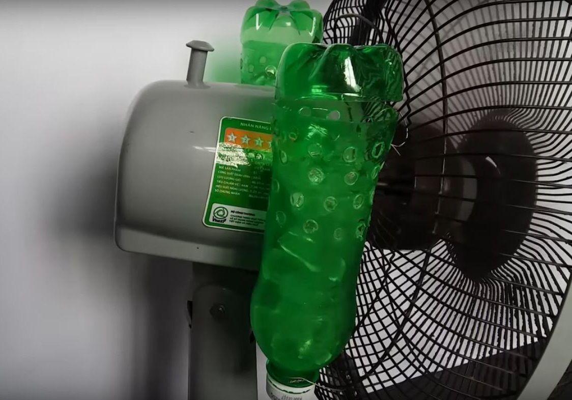 MIrá cómo hacer un aire acondicionado casero