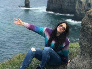 Natalia Vargasmurió al caer 120 metros desde un parapente.