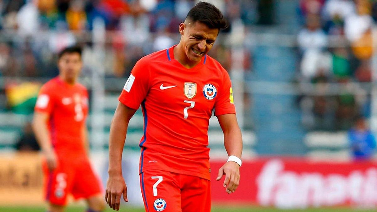 El Nenny se burla de Alexis Sánchez por quedarse afuera del Mundial