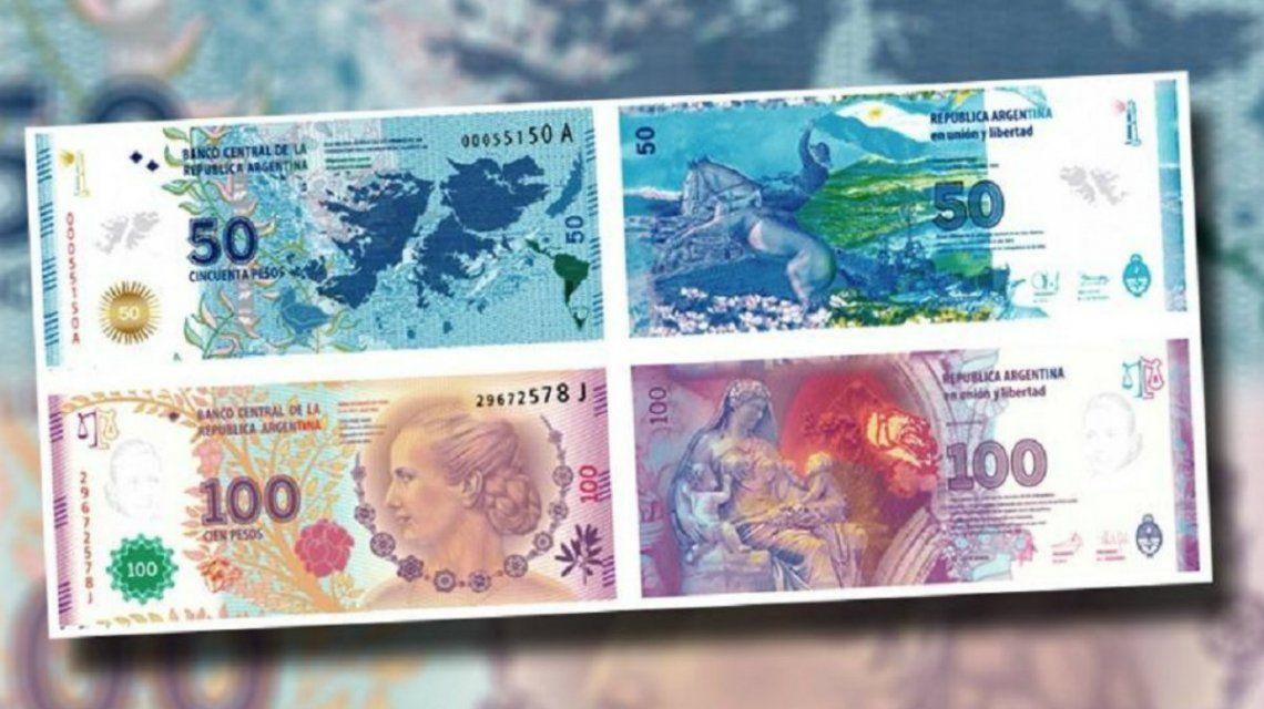 Los nuevos billetes de 100 y 50 también llevarán animales: taruca y cóndor