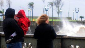 Alerta por fuertes vientos en la Ciudad y en seis provincias