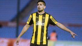 Lucas Viatri en Peñarol - Crédito: @BolsoImagenes