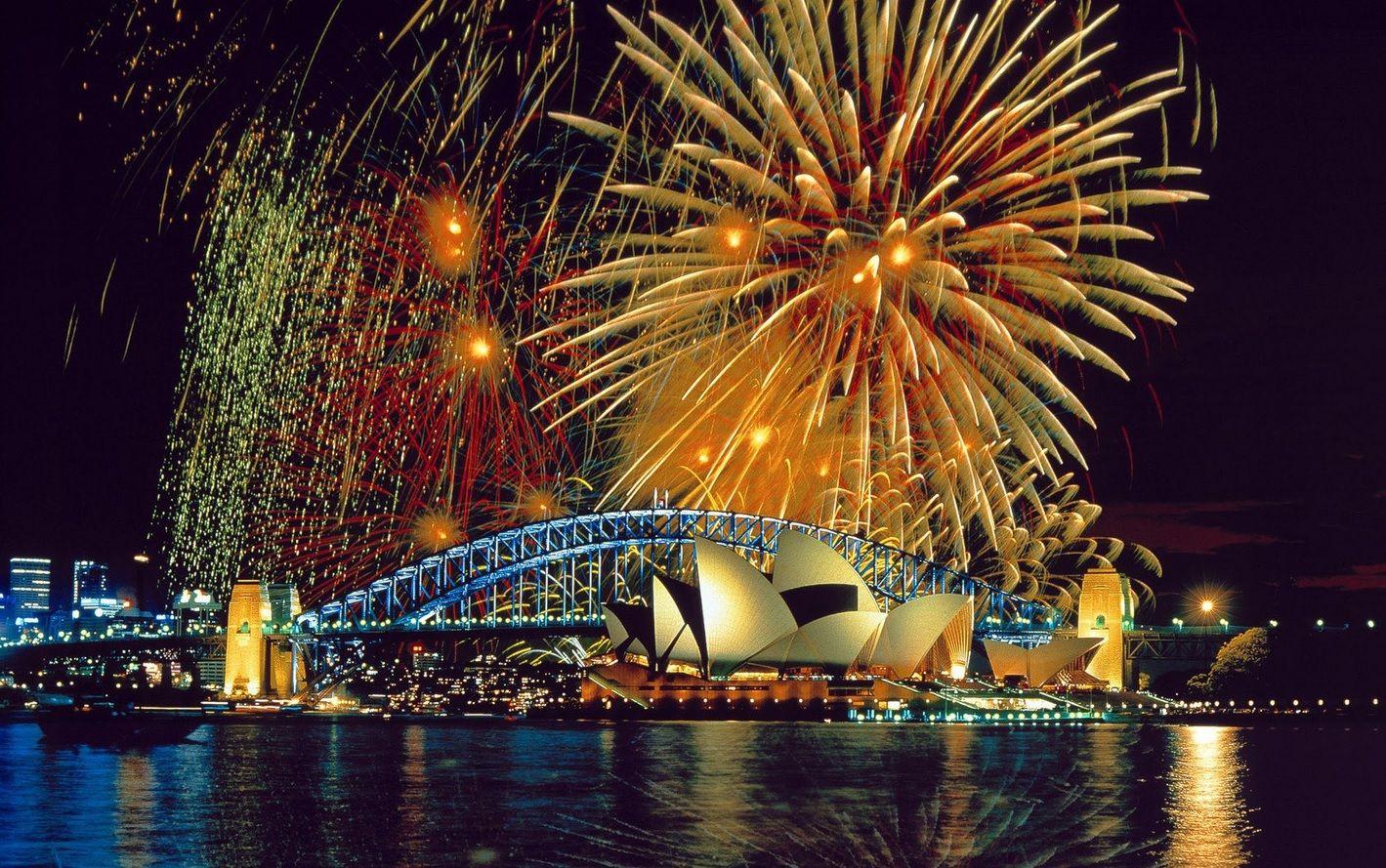 El gran festejo de Año Nuevo en Sidney