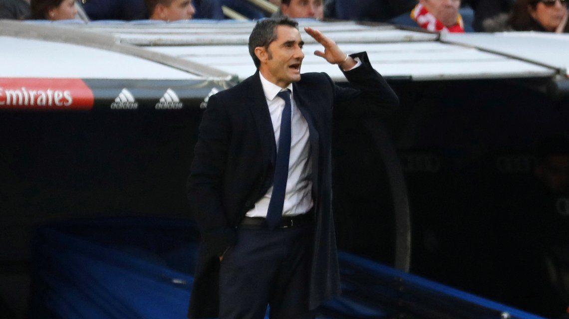 Valverde se rindió a los pies de su jugador estrella