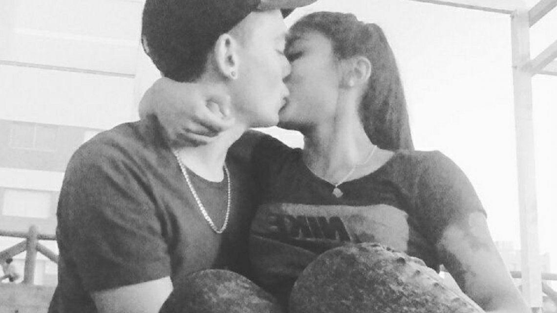 Loto se recupera tras el accidente en cuatriciclo que le costó la vida a su novio – Crédito: Facebook Agustin Rebol