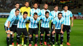 Una formación de la Selección argentina de la Copa América 2015