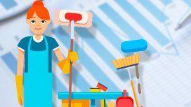 Se oficializó el aumento de 15% para el personal doméstico: ¿cómo es la nueva escala salarial?