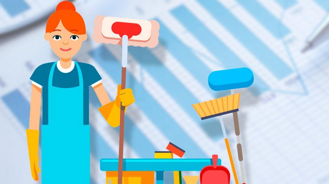 Aumentan los aportes de las empleadas domésticas: ¿cuánto vas a tener que pagar?