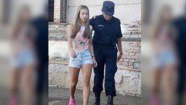 Nahir Galarza fue trasladada a una cárcel.