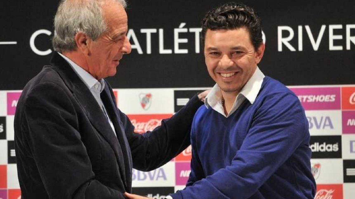 Marcelo Gallardo renovará su contrato por cuatro años.