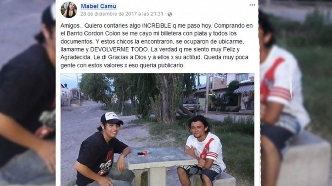 Facebook de Mabel Camu