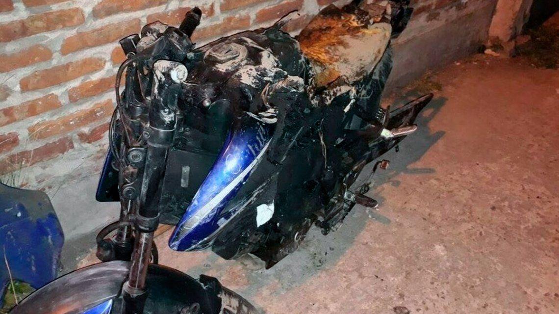 Detuvieron al segundo motochorro que atropelló Brian Quiroga