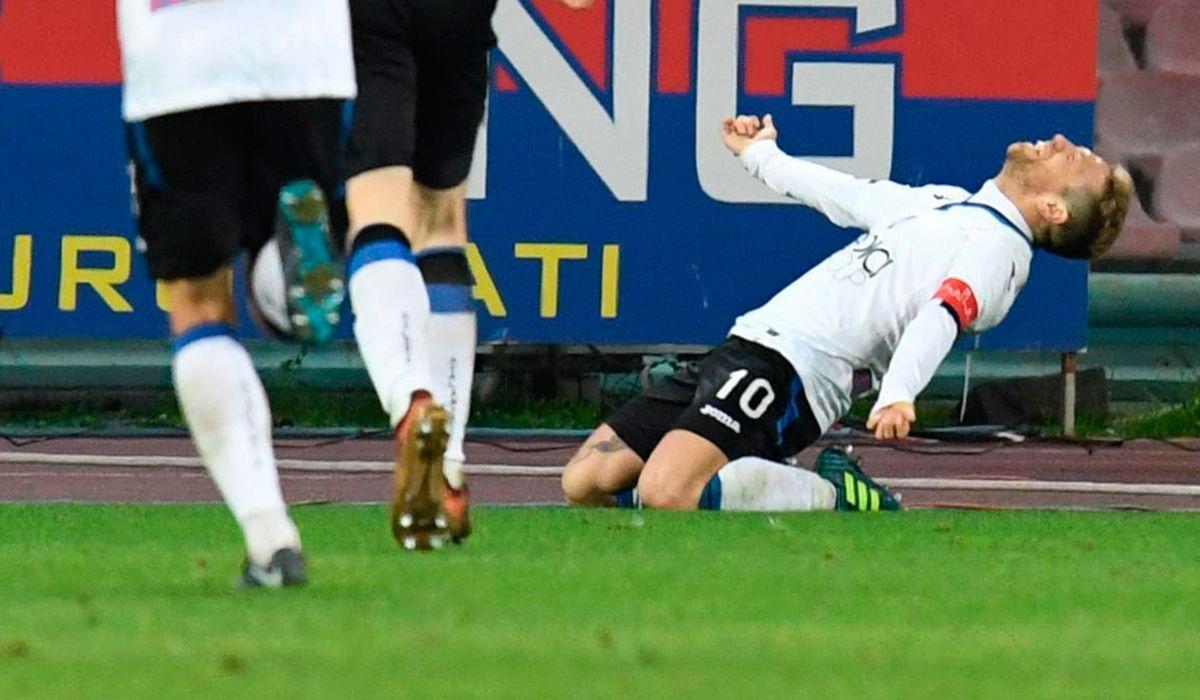 Pau Gómez celebrando el gol del triunfo con
