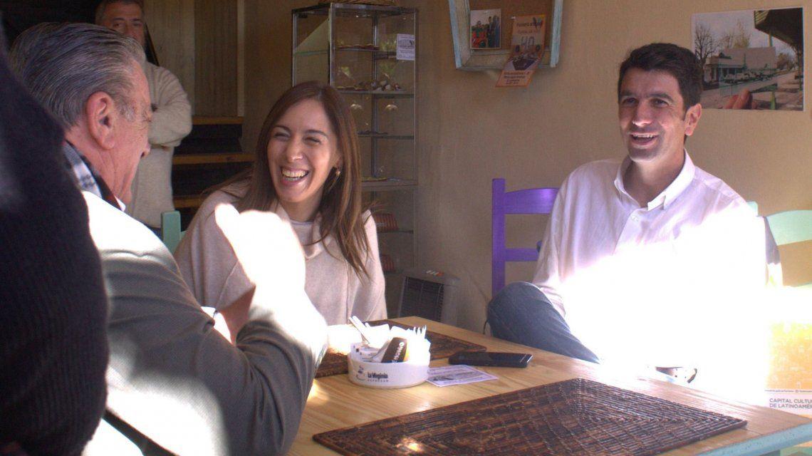 Vidal visitó el café Don Mauricio