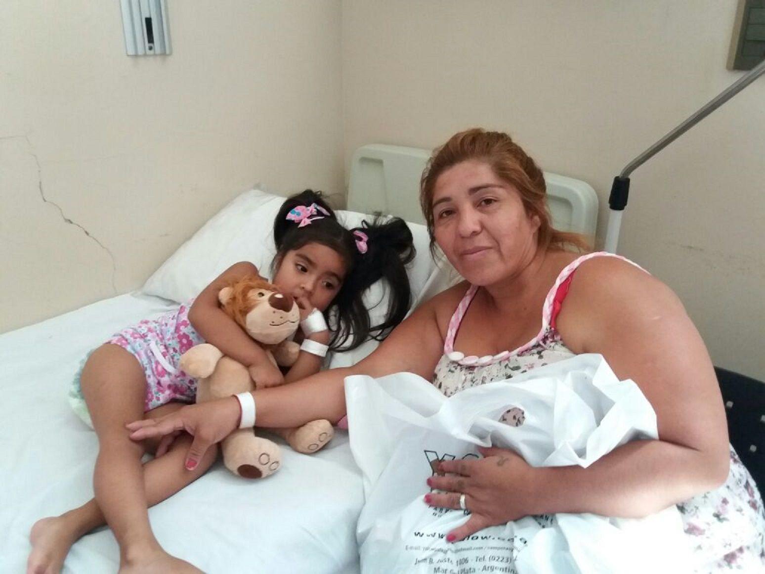 Tiene 3 años y necesita una casa para poder salir del hospital: Está en juego su vida