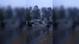 La nieve, aunque leve, sorprendió a los habitantes de Tallahassee