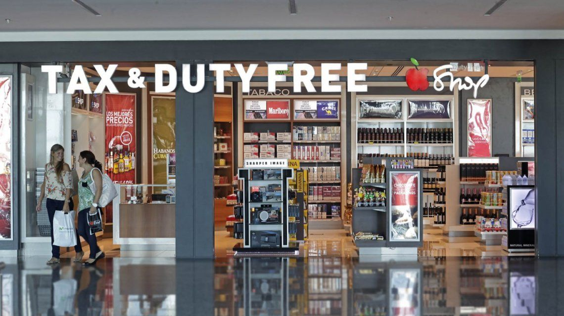 Duty Free Shop de llegada en Argentina