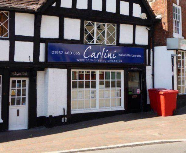 Ocurrió en el restaurante de comida italiana Carlini en la ciudad inglesa de Shropshire
