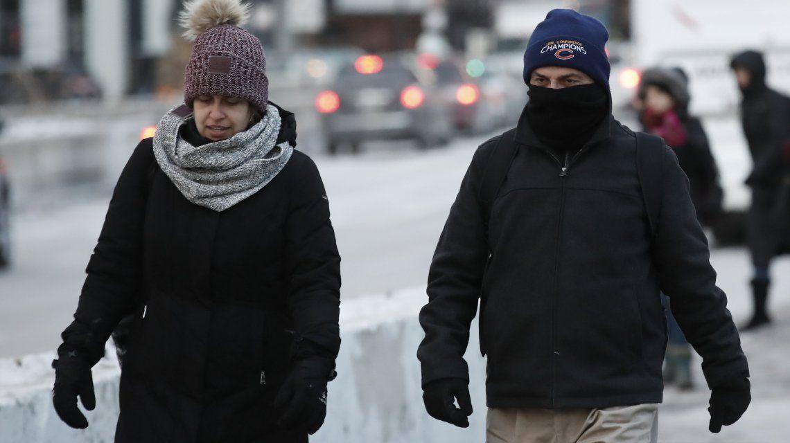 Estados Unidos puede tener temperaturas más bajas que Marte