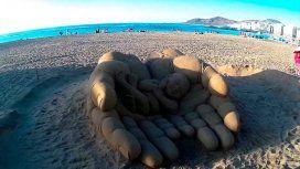 Un clásico del verano: mirá las 10 mejores esculturas hechas con arena y sorprendete