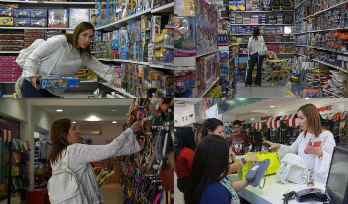 Los memes de María Eugenia Vidal luego de ser sorprendida comprando regalos de Reyes