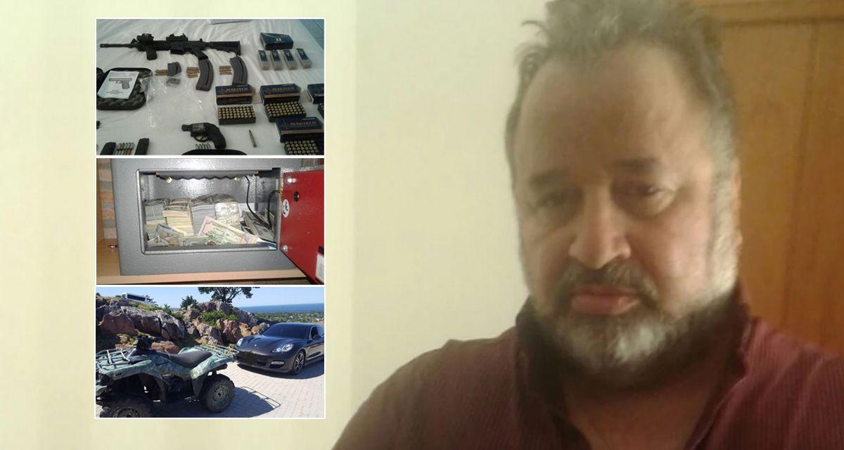 Efecto Pata Medina: detuvieron al titular del SOEME en Punta viviendo una vida de lujos