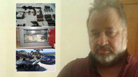 La policía uruguaya encontró US$3,8 millones de Balcedo