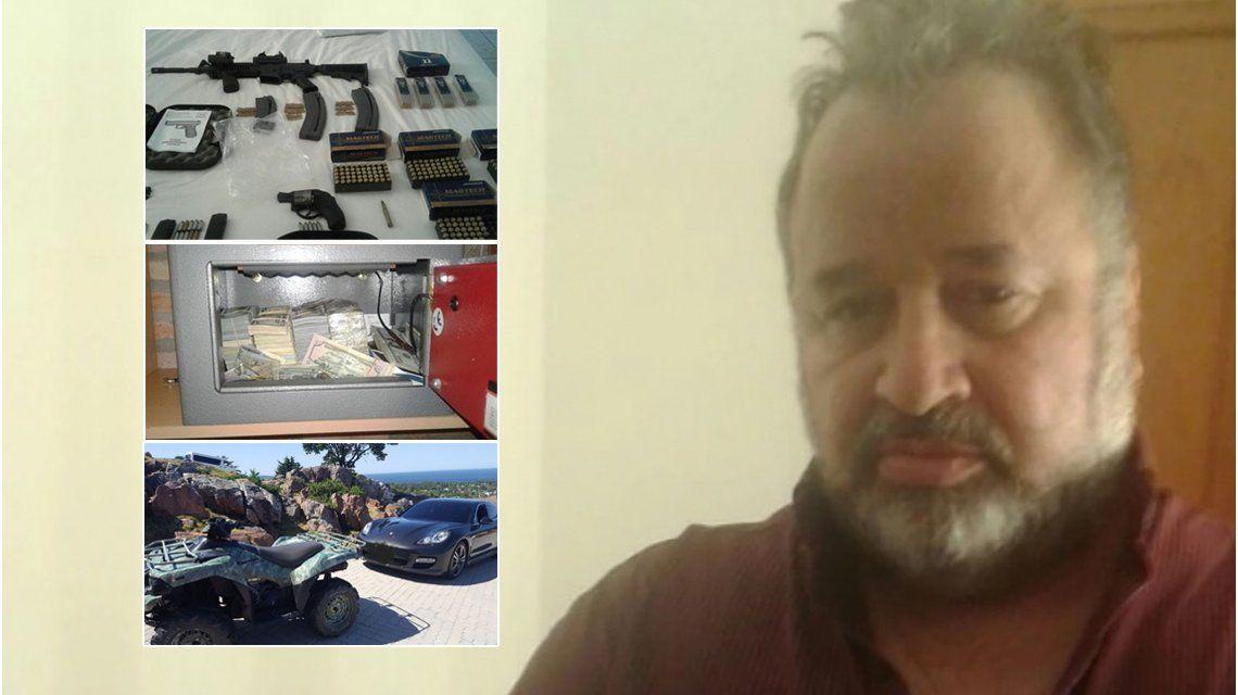 La policía uruguaya encontró otros 3,8 millones de dólares en cajas de seguridad de Balcedo