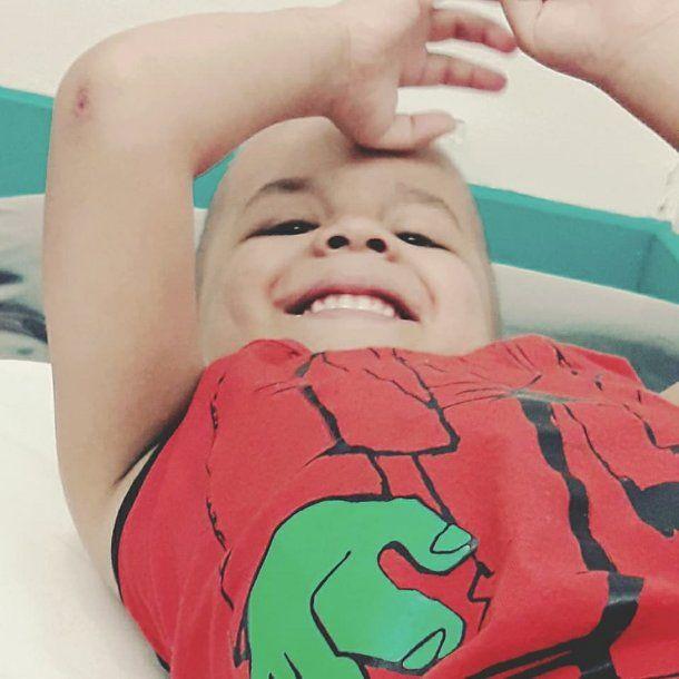 Juan Ignacio tiene cuatro años y hace tres le diagnosticaron leucemia.