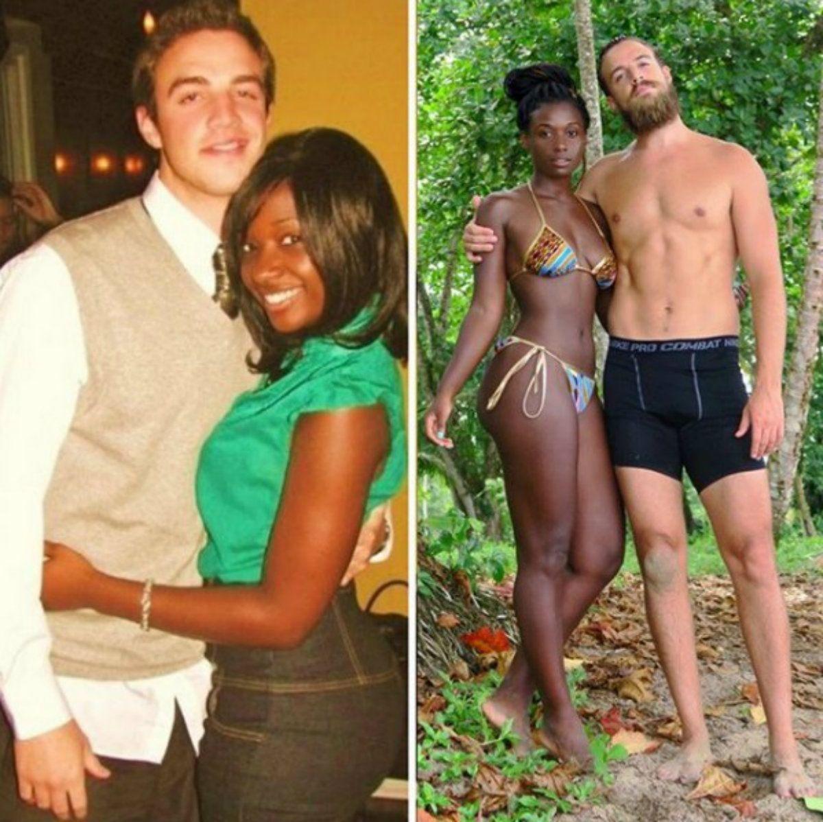 Hay 10 años de diferencia entre una foto y otra