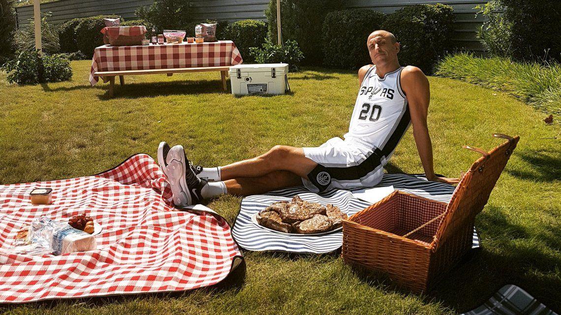 El cambio de dieta de Ginóbili para seguir en la NBA - Crédito:@manuginobili