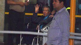 Alberto Fujimori fue indultado por razones humanitarias
