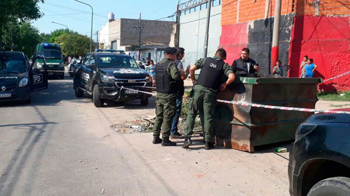 Rosario: Encontraron en un contenedor el cuerpo calcinado de una adolescente