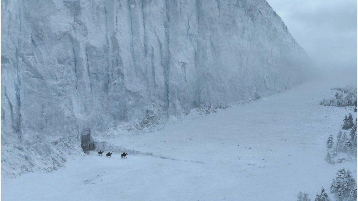 Descubren un muro similar al de Game Of Thrones en la frontera entre Rusia y China
