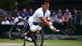 Le perdieron la silla de ruedas al argentino Nº1 del mundo de tenis adaptado