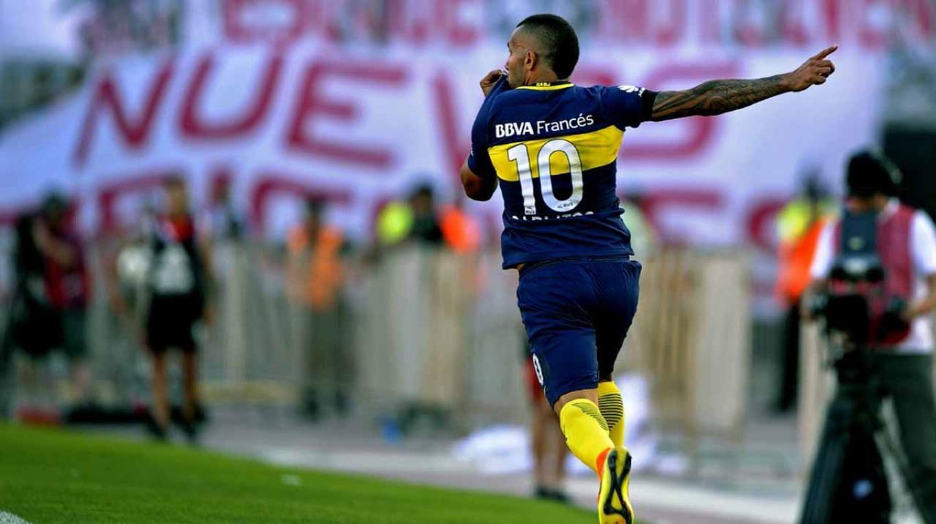 La chicana de Tevez a River antes de su primer partido oficial tras su regreso a Boca