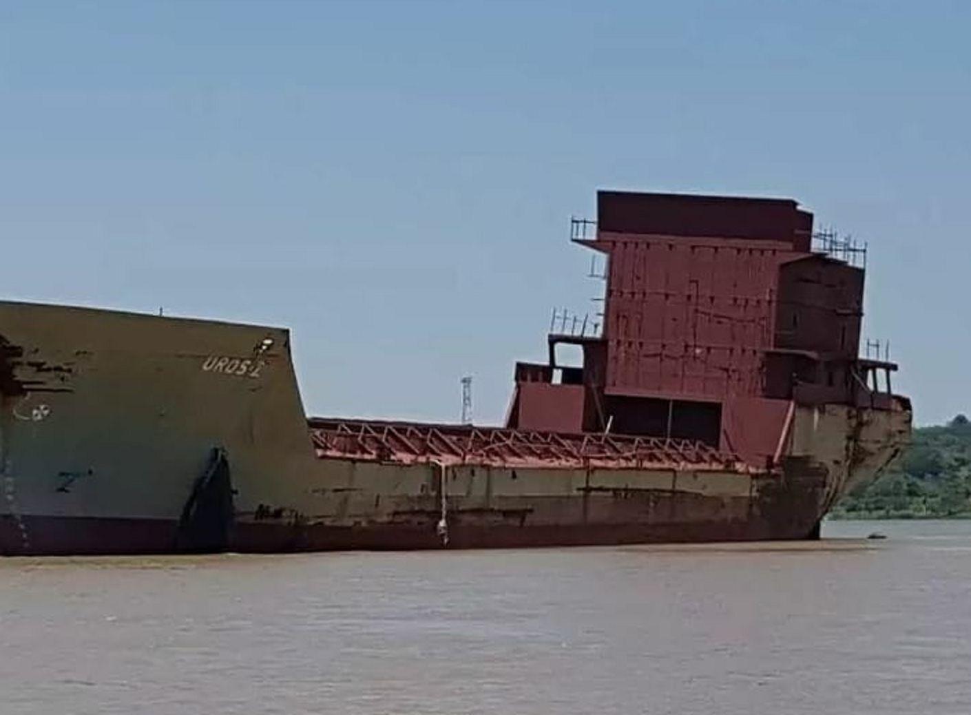 Este es el barco fantasma que asustó a todos