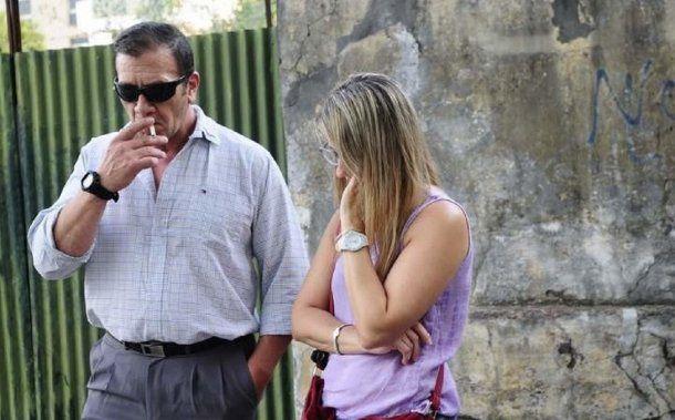 Marcelo, padre de Nahir Galarza - Crédito: eldiaonline.com