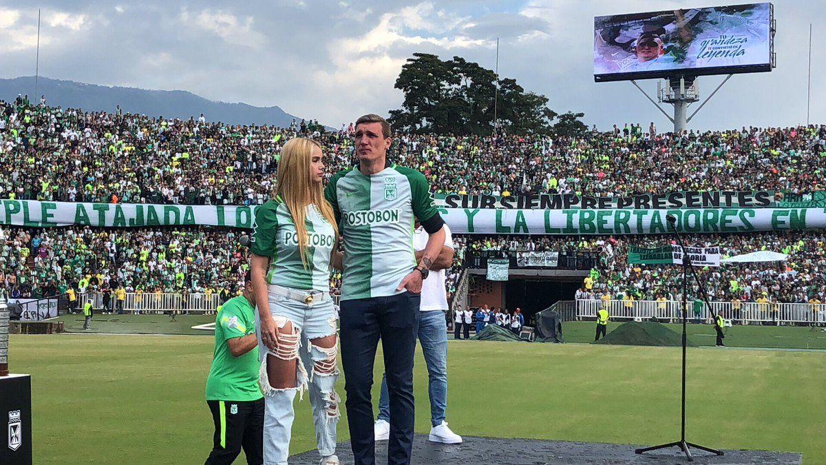 La despedida de Armani en Atlético Nacional - Crédito:@nacionaloficial