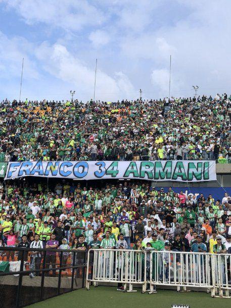 La despedida de Armani en Atlético Nacional - Crédito: @nacionaloficial