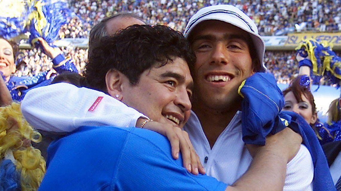Diego Maradona respaldó la vuelta de Carlos Tévez a Boca